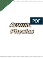 Atomic Physics Iprof
