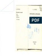 1983 - Ventsel -Investigación de Operaciones - Problemas, Principios, Metodología