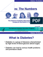 Presentation of Diabetes