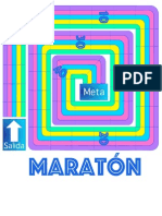 Tablero para maraton