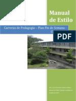 Manual de Estilo de Trabajos Académicos CUNSUROC 2014
