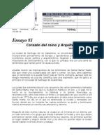 Ensayo Corazon Del Reino y El Capitulo Arquitectura de La Arq. Duina Valenzuela (B)