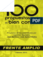 100 Propuestas Para el Bien Común