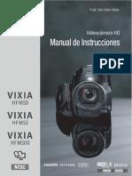 manual canon Hfm50 Hfm52