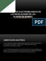 Componentes Electromecánicos en Las Instalaciones