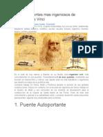 Los Seis Puentes Mas Ingeniosos de Leonardo Da Vinci