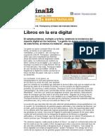 Libros en La Era Digital