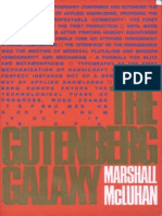 Marshall McLuhan - The Gutenberg Galaxy