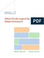 Análisis Schumann op. 68 nº 37 (Album para la Juventud)