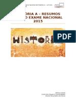 Resumos História - Exame Nacional 2015
