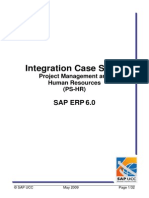 SAP PS-HR Casestudy