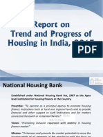 Report on Trend and Progress of Housing in India 2013