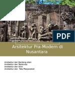 Arsitektur Indonesia Pra-Modern