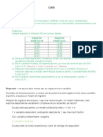 Subiecte rezolvate econometrie 20015