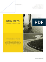 Baby Steps Miles Sponsorship Package