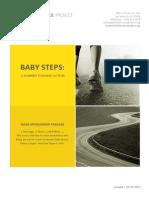 Baby Steps Miles Sponsorship Package