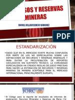 Recursos y Reservas Mineras