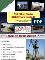 Trailer Stability
