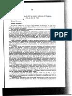 Informe Presidencial Porfirio Diaz 1910