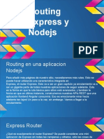 Routing Express y Nodejs