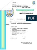 Informe de Labo de Fisica Trayectoria Del Proyectil