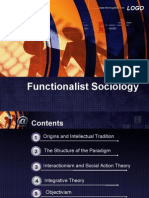 Functionalist Sociology