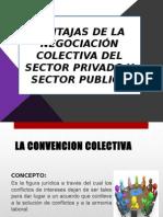 Ventajas de La Negociacion Colectiva en El Sector Privado y Publico