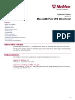 Stonesoft IPsec VPN Client 5.4.3