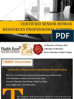 CSHRP Brochure