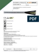 Especificaciones Cable 4kV