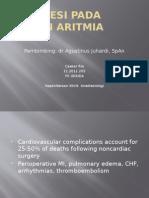 Anestesi Pada Pasien Aritmia