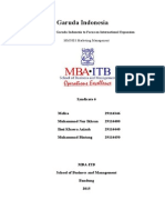 Garuda Indonesia Marketing MBA