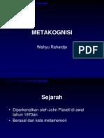 Metakognisi