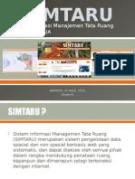 SIMTARU PAPUA (Sistem Informasi Manajemen Tata Ruang)