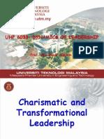 Module 10 Charimatic & Transfoematioal Ldsp L'SHIP-10
