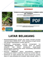 PENGELOLAAN KONSERVASI SUMBER DAYA AIR TERPADU / INTEGRATED WATER RESOURCE CONSERVATION MANAGEMENT (IWCM)