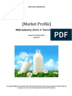 Milk Industry 2014-A Sweet Year