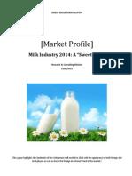 Milk Industry 2014-A Sweet Year
