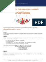 règlement prix st christophe compositeur 7-4