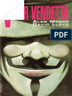 V for Vendetta Comic Book-1
