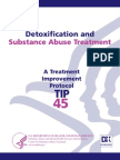 Detoxification and Substance Abuse Treatment TIP 45 U.S.