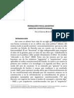 Vanossi Federalismo Fiscal 2013