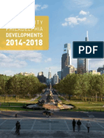 Philadelphia Center City Developments & Growth Report 2014-2018 from Different Sectors