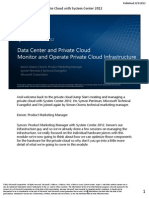 Monitor and Operate Private Cloud Infrastructure Student Manual