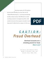 Fraud Overhead