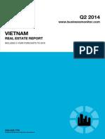 BMI Vietnam Real Estate Report Q2 2014