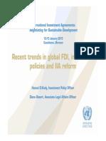 UNCTAD_FDI Recent Trends
