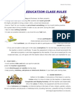 Class Rules for Web uPDATED JUNE 2015