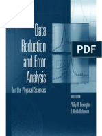 Data Reduction and Error Analysis