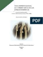 "Antigua Espiritu""Antigua espiritualidad, liturgia y observancia de las monjas dominicas"" Fr. Julián de Cos (ed)alidad Monjas Dominicas Seguro"